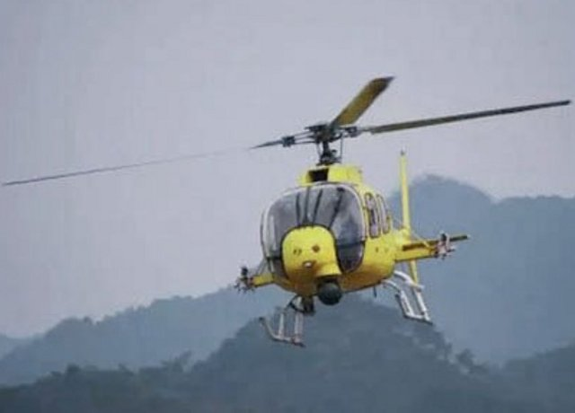 China new Avicopter Z 11WB light helicopter performed itsmaiden flight 640 001