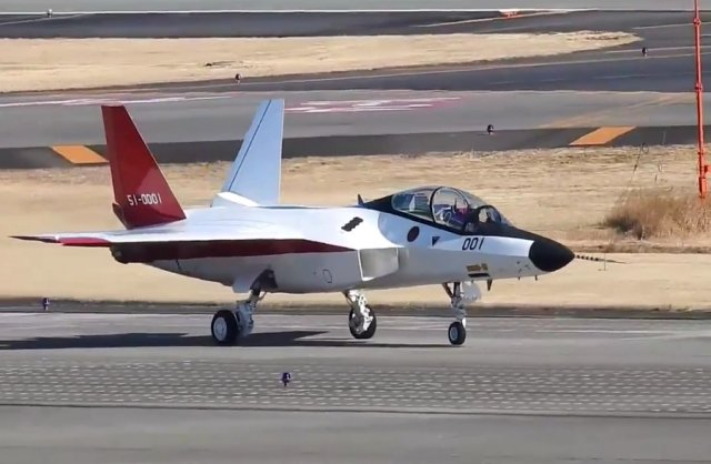 Japan X 2 stealth fighter prototype proceeds in ground test phase 640 001