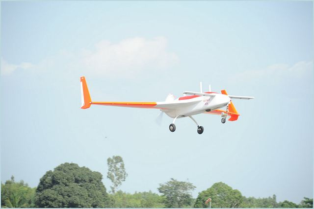 Indian designed and developed UAV (Unmanned Aerial Vehicle ) RUSTOM-1 completed its fifth successful flight on Friday morning. It flew at an altitude of 2,300 feet and at a speed of 100 knots during its 25-minute flight near Hosur. The fifth flight took place after a layoff of about five months. During this period, the lift-off and flying characteristics were improved.