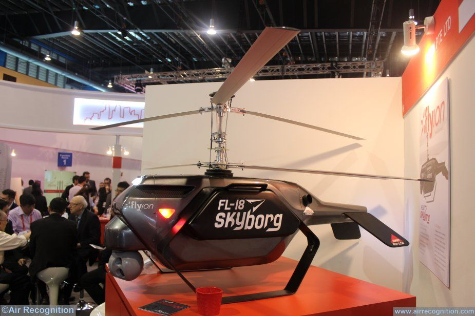 New Singapore made SkyBorg drone appears 001