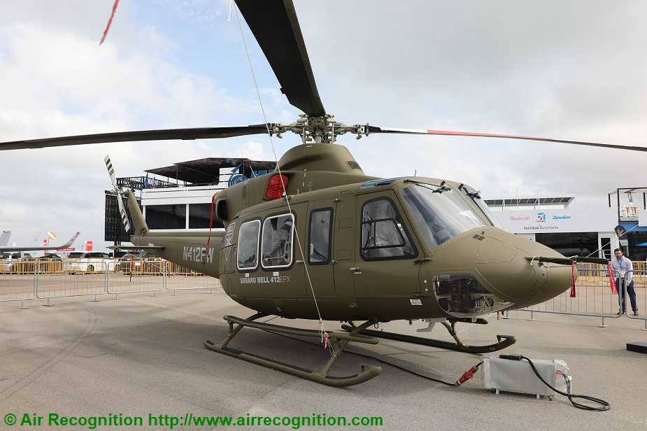 Singapore AirShow 2020 Subaru displays Subaru BELL 412EPX for the first time in Asia
