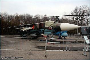 MiG-23 Flogger Mikoyan fighter aircraft technical data sheet specifications intelligence description information identification pictures photos images video Russia Russian Air Force aviation air defence industry military technology
