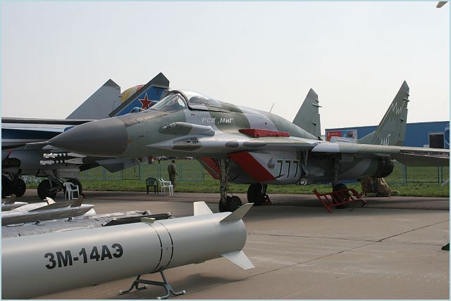 MiG-29s Fulcrum MiG-29SM_Mikoyan_fighter_aircraft_Russia_Russian_air_force_aviation_aerospace_defence_industry_640