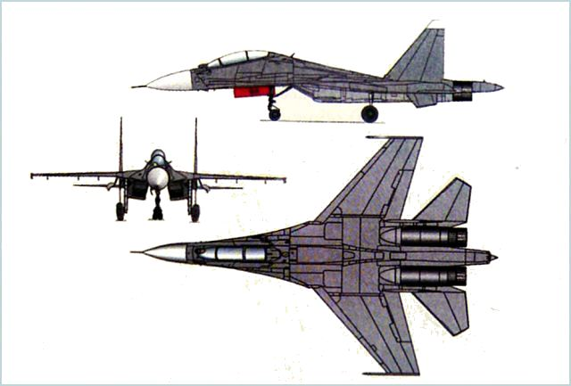 Su-30MK Su-30MKM Sukhoi fighter aircraft technical data sheet specifications intelligence description information identification pictures photos images video Russia Russian Air Force aviation air defence industry