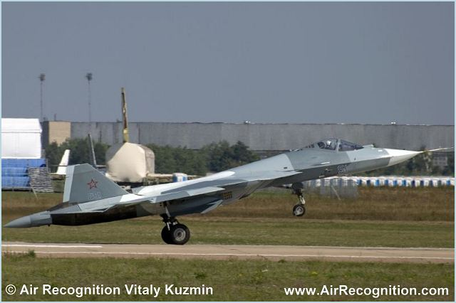 The Russian Air Force will receive the first batch of prototypes of its fifth-generation T-50 fighter for performance testing in 2013, Col. Gen. Alexander Zelin said on Thursday, May 17, 2012.