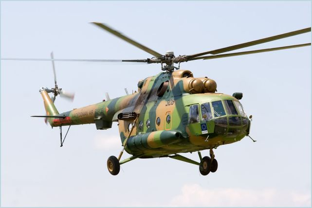 Mi-17 medium multipurpose transport helicopter technical data sheet specifications intelligence description information identification pictures photos images video Russia Russian Air Force aviation air defence industry military technology