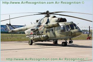 Mi-8MTV-5 Mi-17-V5 tactical transport helicopter  technical data sheet specifications intelligence description information identification pictures photos images video Russia Russian Air Force aviation air defence industry