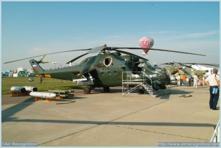 Mi-35 Mi-24V Hind multirole combat helicopter technical data sheet specifications intelligence description information identification pictures photos images video Rostverol Rostverol Helicopters Russia Russian Air Force aviation air defence industry military technology