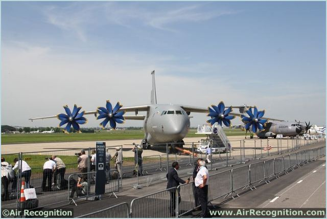 At Paris Air Show 2013, the Ukrainian Company ANTONOV Company presents the AN-70 STOL military freighter which has no equal in a number of characteristics. One of its unique characteristics is capability of take-off/ landing from short unpaved runways of 600-700 m while carrying up to 20 t cargo over a distance of 3000 km. The AN-70 cargo cabin dimensions allow it to accommodate all types of CIS and NATO military equipment and armament.