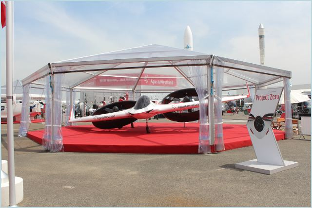 "The revolutionary AgustaWestland ""Project Zero"" all-electric tiltrotor technology demonstrator is the result of close collaborations with Finmeccanica companies - Selex ES, Ansaldo Breda, and Ansaldo Energia - and partner companies from Italy, U.K., U.S.A. and Japan. Dr. James Wang, Vice President of Research and Technology at AgustaWestland, said, ""Project Zero was a fast-paced, complex project involving partners and suppliers across different time zones."