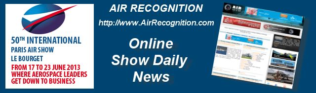 Advertising  Paris Air Show 2013 Show Daily News