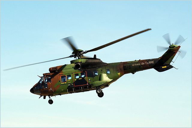 Sa 332 As Super Puma Tactical Transport Helicopter Sheet. Greece Enic Air  Force ... aef06af8abc