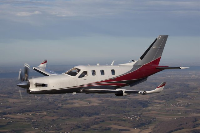 TBM 900 TBM 900 utility aircraft technical data sheet specifications intelligence description information identification pictures photos images video Daher Socata TBM aircraft TBM MMA Daher Socata French Air Force France aviation aerospace defence industry military technology