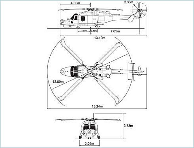 Aw159 Agustawestland Multi Role Maritime Helicopter Technical Data
