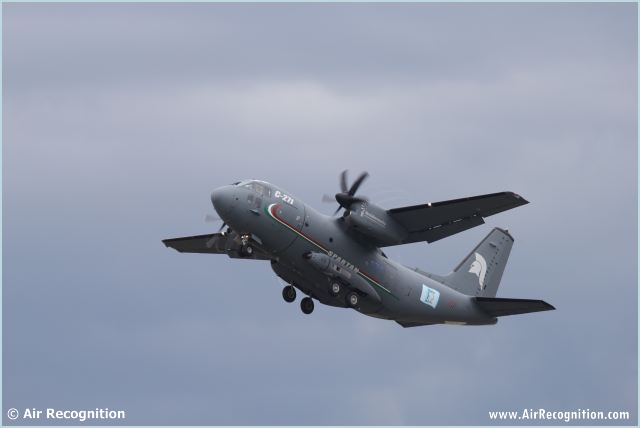 C 27j Spartan Military Transport Aircraft Technical Data Sheet Specifications Intelligence