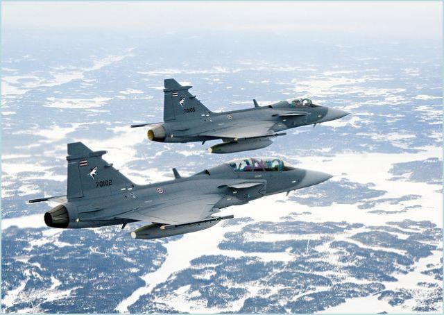 Switzerland has chosen to replace its F-5 fighter jet fleet with Swedish defence and aerospace group Saab's JAS-39 Gripen, Swiss newspaper Tagesanzeiger reported on Wednesday, citing unnamed sources close to the government.