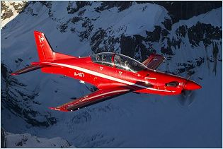 PC-21 Pilatus turboprop advanced trainer  cargo aircraft technical data sheet specifications intelligence description information identification pictures photos images video Switzerland Swiss Air Force aviation aerospace defence industry technology