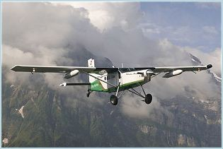 PC-6 Pilatus Short Take-Off and Landing STOL aircraft technical data sheet specifications intelligence description information identification pictures photos images video Switzerland Swis Air Force aviation aerospace defence industry technology