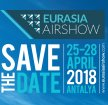 EURASIA AIRSHOW 2018 news visitors exhibitors information EAS 2018 Antalya Turkey army military defense industry technology
