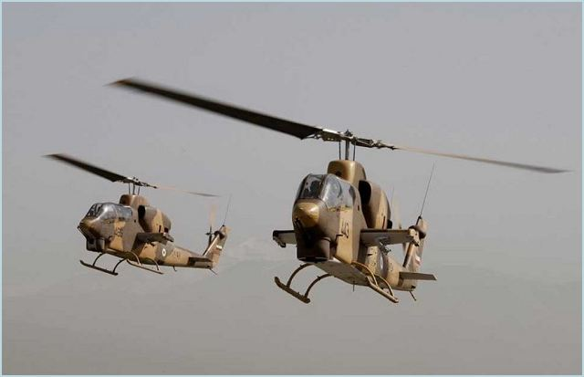 The Iranian Army plans to unveil and put into operation Iran's first home-made Cobra chopper in special wargames of the Army's Airborne unit in the near future, a senior commander announced on Wednesday, May 24, 2012.