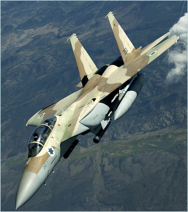 "Last Thursday (October 6), an Israel Air Force F-15 ""Baz"" fighter jet made an emergency landing at the Tel Nof airbase after it struck a bird during takeoff. One of the aircraft's engines caught on fire but the pilot and navigator were successful in executing a quick emergency landing."