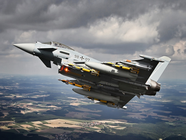Cassidian, the defence division of EADS, has successfully finalized its flight testing of the Eurofighter Typhoon Phase 1 Enhancements (P1E) programme. After an intensive test programme of this First Batch of Enhancements on Instrumented Production Aircraft 4 and 7, this enhancement is confirmed to deliver a robust simultaneous multi-/swing-role capability to the Nations' Air Forces. It will be ready for the customers by the end of 2013.