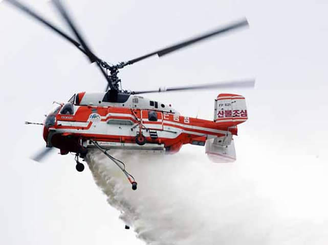Russian Helicopters presents the fire-fighting Ka-32A11BC, the multi-role Mi-171A2 and the new Ka-62 to the South Korean market. Russian Helicopters, a subsidiary of Oboronprom, part of Rostec State Corporation, is taking part in Seoul International Aerospace and Defence Exhibition (SEOUL ADEX 2013) from 29 October to 3 November 2013 at the Kintex Exhibition Centre in Seoul, South Korea. The company's stand is in pavilion H9-C6.
