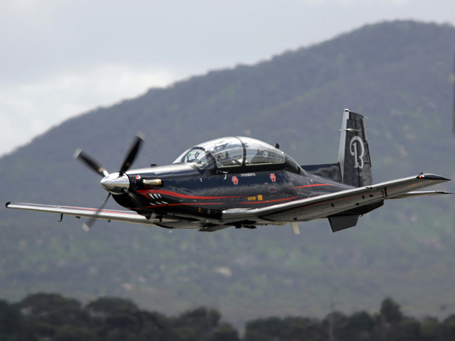 Beechcraft Corporation today announced a follow-on sale of its Beechcraft T-6C+ military trainer to the Mexican Air Force (FAM). The T-6C+, an enhanced version of the T-6 military trainer aircraft, is capable of carrying external stores and delivering practice weapons for training purposes. This order follows an initial order of six T-6C+ aircraft from the FAM in January 2012.