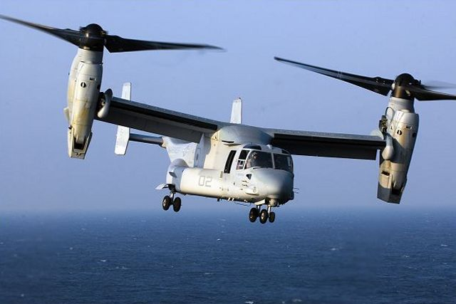 Japanese Ministry of Defense has officially announced on Friday, November 21, selection of the Boeing's V-22 Osprey for its military tilt-rotor requirement, as well as the Northrop Grumman's Global Hawk unmanned surveillance system and E-2D Hawkeye command and control aircraft.
