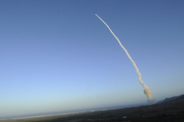 A team of US Air Force Global Strike Command Airmen launched an unarmed Minuteman III intercontinental ballistic missile yesterday, September 23, at 7:45 a.m. Pacific Daylight Time from Vandenberg Air Force Base, California. The ICBM's reentry vehicle, which contained a telemetry package used for operational testing, traveled approximately 4,200 miles to the Kwajalein Atoll in the Marshall Islands.