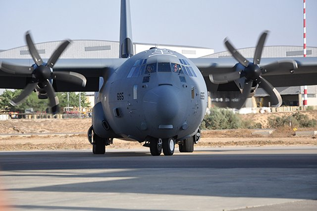 "Another C-130J ""Shimshon"" landed in Nevatim Airbase last week and joined the Israeli Air Force. The new plane is equipped with self-defense systems and will help to ""enhance aerial support provided for ground and aerial units,"" the IAF announced on August 20."