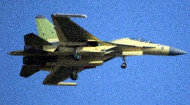 China new electronic warfare variant of the J 16 fighter reportedly made its maiden flight 640 001