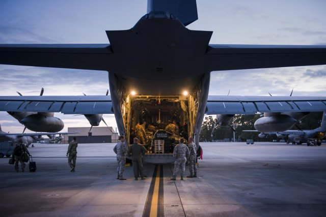 USAF HC 130J Combat King II makes operational debut in support of Operation Inherent Resolve 640 001