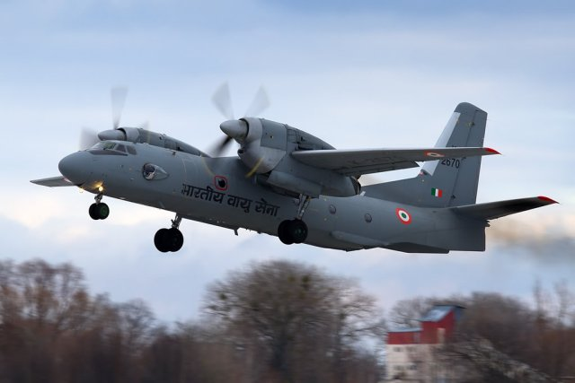 Antonov delivered final batch of modernized An 32RE military airlifters to Indian Air Force 640 001