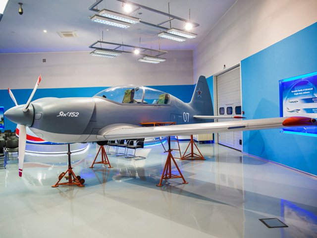 Russia to receive first batch of four Yak 152 trainer aircraft for flight test campaign in 2016 640 001