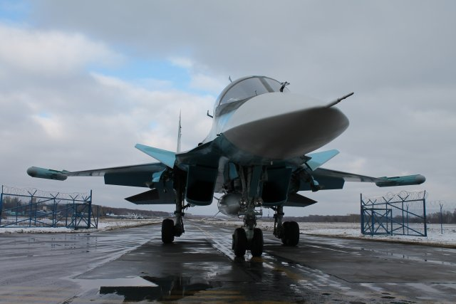Sukhoi handed over new batch of su 34 frontline bombers to the Russian Air Force 640 001