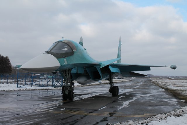 Sukhoi handed over new batch of su 34 frontline bombers to the Russian Air Force 640 002