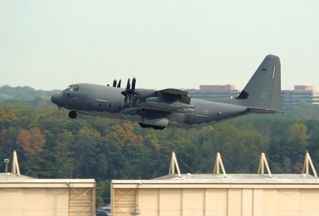USAF received two more MC 130J Commando II aircraft 640 001