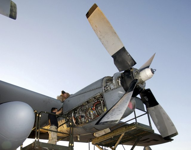USAF to start updating its C-130 airlifters with Rolls-Royce's T56