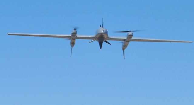 Textron completes integration of Hybrid Quadrotor to Aerosonde SUAS