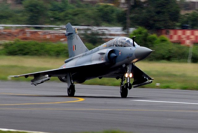 HAL successfully flies first Final Operational Configuration upgraded Mirage 2000 640 001