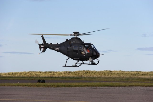 Leonardo s SW 4 Solo unmanned helicopter starts test campaign in Ital 640 001