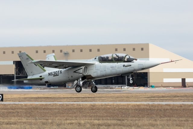 Textron flies first Production Conforming Scorpion multirole jet 640 001