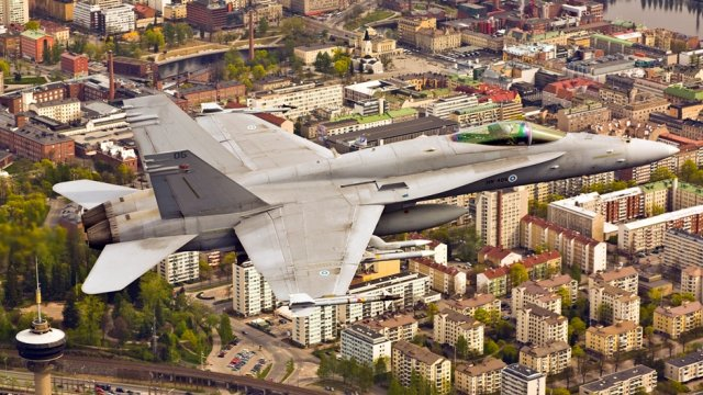 US oks a 156 mn FMS from Finland for F A 18 fighters Mid Life Upgrade Progra 640 001