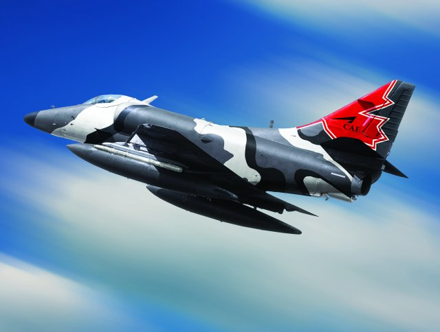 CAE Draken team submits bid for Canada Contracted Airborne Training Services program 640 001