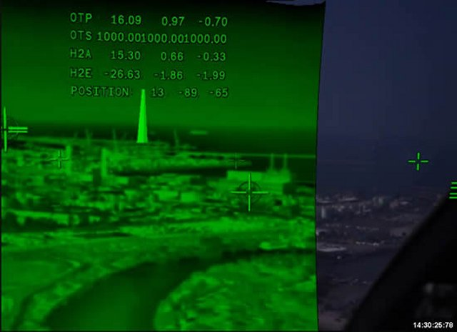 Elbit Systems Skylens head up display achieved flight tests in final configuration mode 640 001