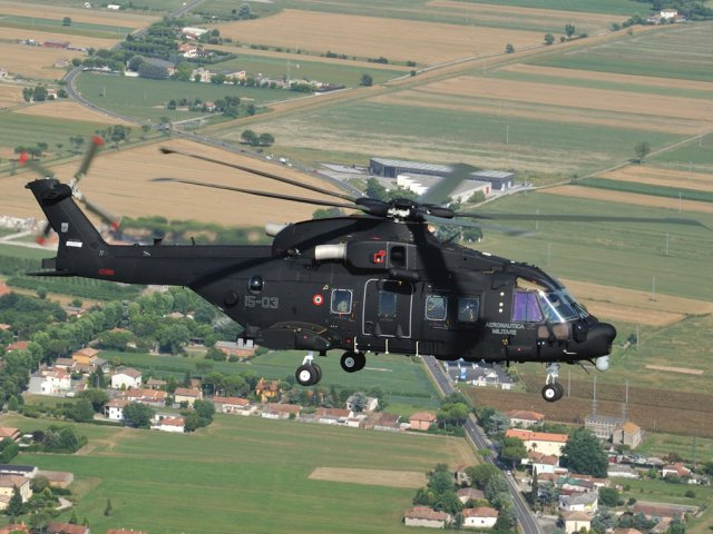 First Italian Air Force s HH 101A Caesar helicopter now fully operational 640 001