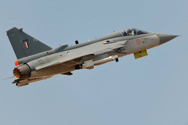 India Tejas Light Combat Aircraft fires a Derby air to air missile for the first-time 640 002