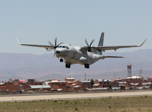 Mali orders one Airbus C295W medium military airlifter 640 001