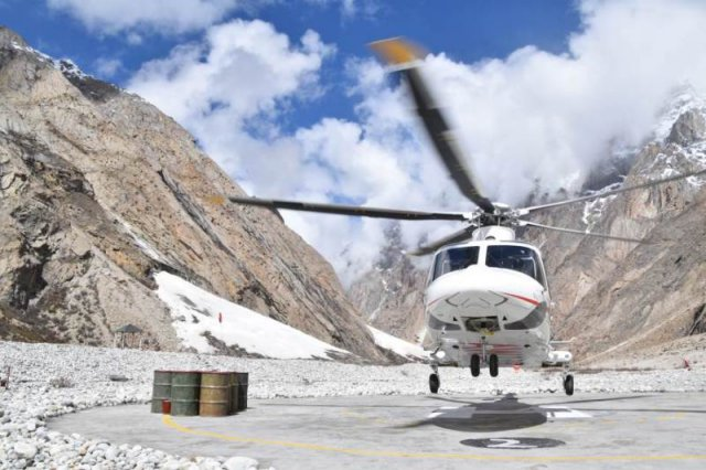 AgustaWestland 139 helicopter achieves hot and high altitude trials in Pakistan 640 001